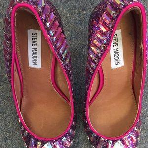 Steve Madden Shoes - Steve Madden Sparkly Heels